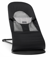 Кресло-шезлонг BABYBJORN BALANCE SOFT COTTON JERSEY BLACK GRANITE