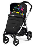 Коляска прогулочная PEG-PEREGO BOOK PLUS GREY POP-UP MANRI