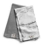 Плед бамбуковый ELODIE DETAILS MARBLE GREY