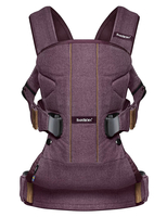 Рюкзак-кенгуру BABYBJORN ONE COTTON MIX BLACKBERRY RED L.E.