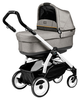 Коляска PEG-PEREGO BOOK PLUS 51 WHITE POP-UP LUXE GREY 3 В 1