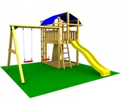 Игровой комплекс JUNGLE GYM FORT +SWING MODULE