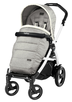 Коляска прогулочная PEG-PEREGO BOOK PLUS 51 S WHITE POP-UP LUXE OPAL