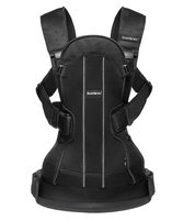 Рюкзак-кенгуру BABYBJORN WE SOFT AIR BLACK
