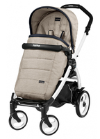 Коляска прогулочная PEG-PEREGO BOOK PLUS 51 WHITE POP-UP LUXE BEIGE