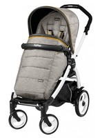 Коляска прогулочная PEG-PEREGO BOOK PLUS 51 WHITE POP-UP LUXE GREY