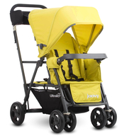 Коляска для погодок JOOVY CABOOSE ULTRALIGHT CITRON на раме GRAPHITE