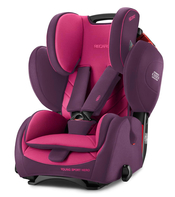 Автокресло RECARO YOUNG SPORT HERO POWER BERRY