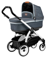 Коляска PEG-PEREGO BOOK PLUS 51 WHITE POP-UP BLUE DENIM 3 В 1