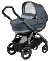 Коляска PEG-PEREGO BOOK PLUS 51 JET ELITE+POP-UP BLUE DENIM 3 В 1