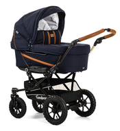 Коляска EMMALJUNGA EDGE DUO COMBI OUTDOOR NAVY на шасси DUO S OUTDOOR 2 В 1