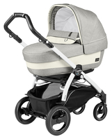Коляска PEG-PEREGO BOOK PLUS 51 S WHITE ELITE+POP-UP LUXE OPAL 3 В 1