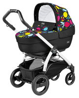 Коляска PEG-PEREGO BOOK PLUS 51 S WHITE ELITE+POP-UP MANRI 3 В 1