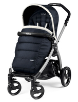 Коляска прогулочная PEG-PEREGO BOOK PLUS GREY POP-UP LUXE BLUE