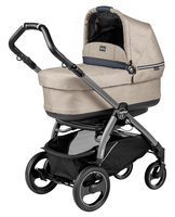 Коляска PEG-PEREGO BOOK PLUS 51 S JET POP-UP LUXE BEIGE 3 В 1