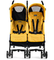 Коляска для двойни PEG-PEREGO PLIKO MINI TWIN MOD YELLOW