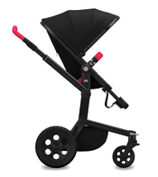 Коляска JOOLZ DAY TAILOR NOIR BLACK WHEELS PINK  2 В 1