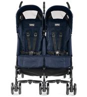 Коляска для двойни PEG-PEREGO PLIKO MINI TWIN MOD NAVY