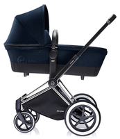 Коляска CYBEX PRIAM LUX MIDNIGHT BLUE 2 В 1 на раме ALL TERRAIN