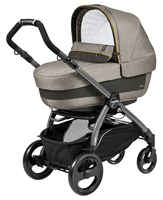 Коляска PEG-PEREGO BOOK PLUS 51 JET ELITE+POP-UP LUXE GREY 3 В 1