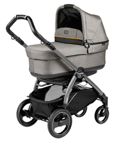 Коляска PEG-PEREGO BOOK PLUS 51 S JET POP-UP LUXE GREY 3 В 1