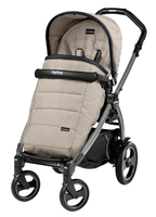 Коляска прогулочная PEG-PEREGO BOOK PLUS 51 S JET POP-UP LUXE BEIGE