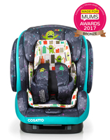 Автокресло COSATTO HUG ISOFIX MONSTER ARCADE