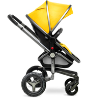 Коляска SILVER CROSS SURF 2 GRAPHITE YELLOW  2 В 1