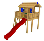Игровой комплекс JUNGLE GYM PLAYHOUSE XL +SWING MODULE
