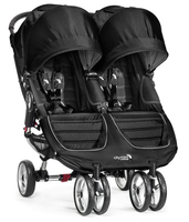 Коляска для двойни BABY JOGGER CITY MINI DOUBLE BLACK
