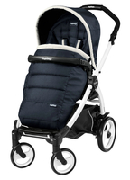 Коляска прогулочная PEG-PEREGO BOOK PLUS 51 WHITE POP-UP LUXE BLUE