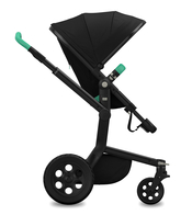 Коляска JOOLZ DAY TAILOR NOIR BLACK WHEELS EMERALD GREEN  2 В 1
