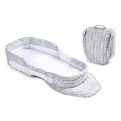 Мобильная кроватка BABY DELIGHT SNUGGLE NEST SURROUND BL GREY SCRIBBLES