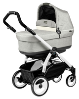 Коляска PEG-PEREGO BOOK PLUS 51 WHITE POP-UP LUXE OPAL 3 В 1