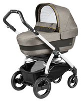 Коляска PEG-PEREGO BOOK PLUS 51 S WHITE ELITE+POP-UP LUXE GREY 3 В 1