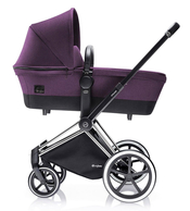 Коляска CYBEX PRIAM LUX PRINCESS PINK 2 В 1 на раме TREKKING