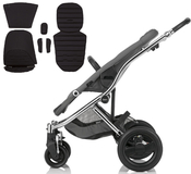 Коляска BRITAX AFFINITY CHROME BLACK