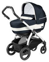 Коляска PEG-PEREGO BOOK PLUS 51 S WHITE ELITE+POP-UP LUXE BLUE 3 В 1