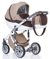 Коляска ANEX SPORT BEIGE-BROWN 2 В 1