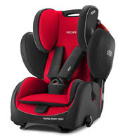 Автокресло RECARO YOUNG SPORT HERO RACING RED