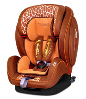 Автокресло WELLDON ENCORE FIT SIDE ARMOR&CUDDLE ME ISOFIX GIRAFFE TALK