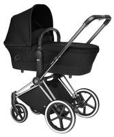 Коляска CYBEX PRIAM LUX STARDUST BLACK 2 В 1 на раме TREKKING