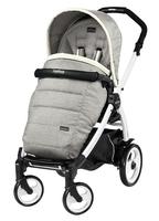 Коляска прогулочная PEG-PEREGO BOOK PLUS 51 WHITE POP-UP LUXE OPAL