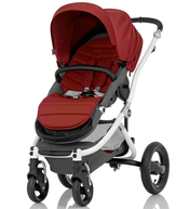 Коляска BRITAX AFFINITY WHITE CHILI PEPPER