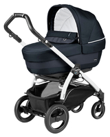 Коляска PEG-PEREGO BOOK PLUS 51 S WHITE ELITE+POP-UP LUXE BLUENIGHT 3 В 1