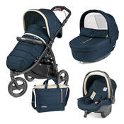 Коляска PEG-PEREGO BOOK CROSS BREEZE BLUE  3 В 1