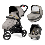 Коляска PEG-PEREGO BOOK CROSS LUXE GREY  3 В 1
