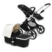 Коляска BUGABOO FOX COMPLETE ALU - BLACK - FRESH WHITE 2 В 1