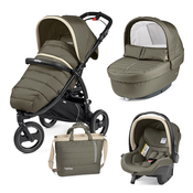 Коляска PEG-PEREGO BOOK CROSS BREEZE KAKI  3 В 1