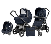Коляска PEG-PEREGO BOOK PLUS 51 S JET XL+POP-UP SPORTIVO BLOOM NAVY 3 В 1